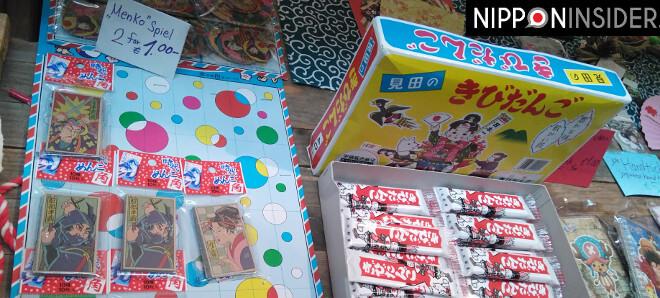 Stand auf dem Japanischen Weihnachtsmarkt