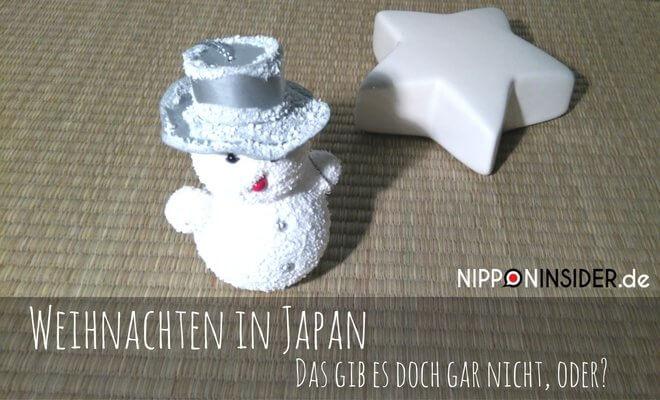 Weihnachten in Japan: Schneemann auf Tatami | Nipponinsider