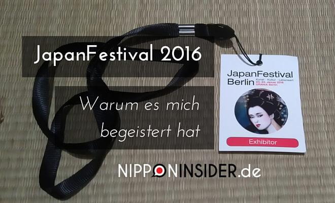 JapanFestival 2016 Titelbild - Warum es mich begeistert hat | Nipponinsider