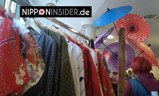 JapanFestival in Berlin: Verkaufsstand Yukata / Kimono & Parasols | Nipponinsider