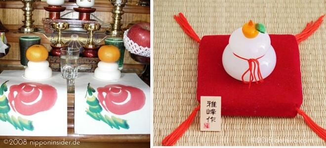 Kagami Mochi im Hausaltar und als Dekogegenstand | Nipponinsider