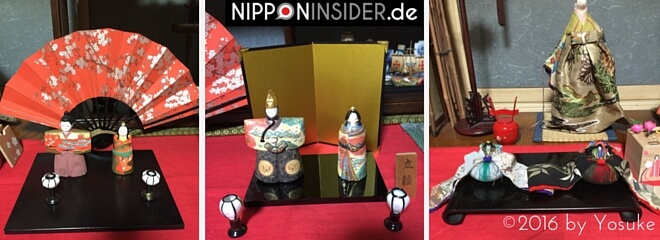 Hinaningyo zum Hinamatsuri in Japan. nipponinsider