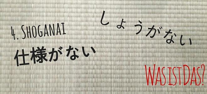 tatami: shoganai - was ist das? | Nipponinsider