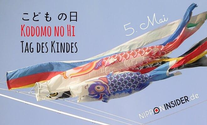 japanischer Feiertag: Kodomo no hi. Bild: Koi no bori, tag des Kindes am 5. Mai | nipponinsider japanblog