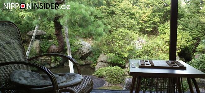 Bild zum japanischen Feiertag Midori no Hi tag der Natur, zeigt einen japanischen Garten | Nipponinsider Japanblog