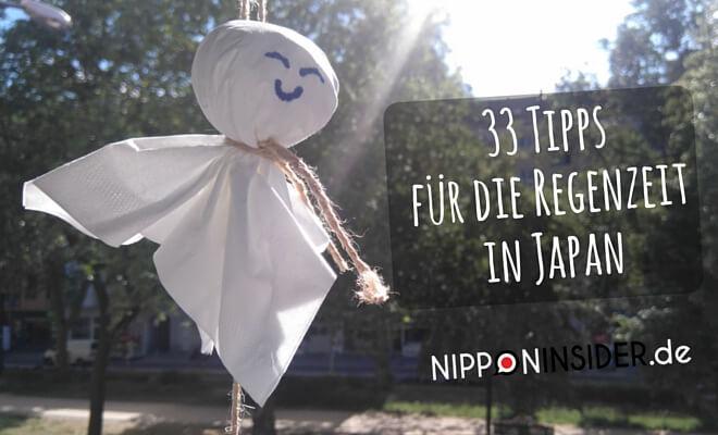 Teru Teru Bozu | 33 Tipps für die Regenzeit in Japan Titelbild | Nippon Insider Japan Blog
