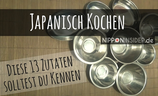 japanisch kochen - diese 13 Zutaten solltest du kennen. Bild: Leere Schüsseln auf Tatami   Nipponinsider