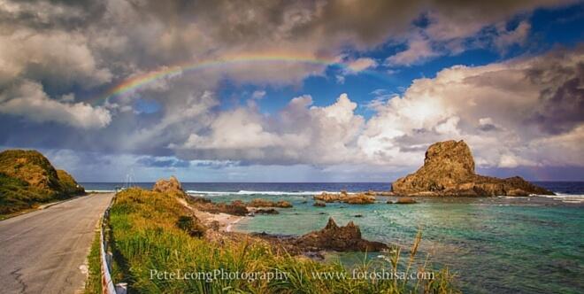Okinawa View. Regenbogen über der Küste | PeteLeongPhotography, fotoshisa