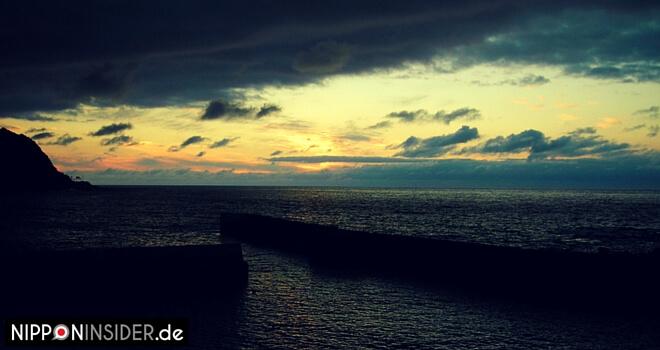 Sonnenuntergang am Meer von Hokkaido / Japan | Nipponinsider