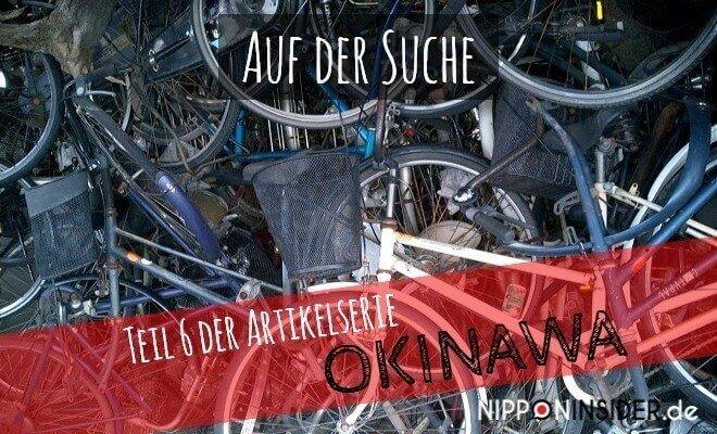 Artikelserie Teil 6: Auf der Suche nach einem Fahrrad für meine Reise. Bild von einem Haufen Schrotträdern | Nipponinsider Japanblog