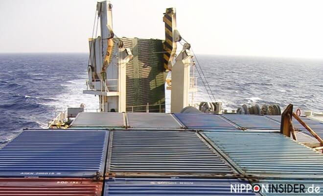 Mit dem Containerschiff übers Meer nach Okinawa. Langsam Reisen in Japan | Nipponinsider