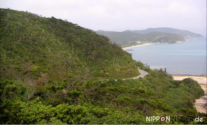 Zamami-jima / Okinawa. Blick vom Aussichtspunkt auf die Insel | Nipponinsider