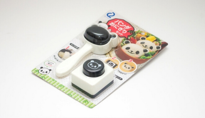 Pandabären Form für Onigiri für Charaben, japanische Esskultur | Nipponinsider