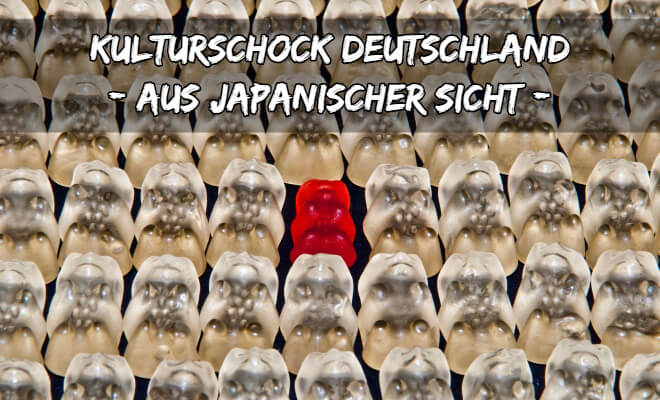 Kulturschock Deutschland für den Japaner - Japanflagge aus Gummibärchen | Nipponinsider Japanblog