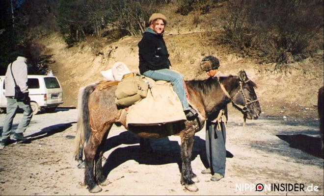 Rucksackreisen mit dem Esel in China | Nipponinsider