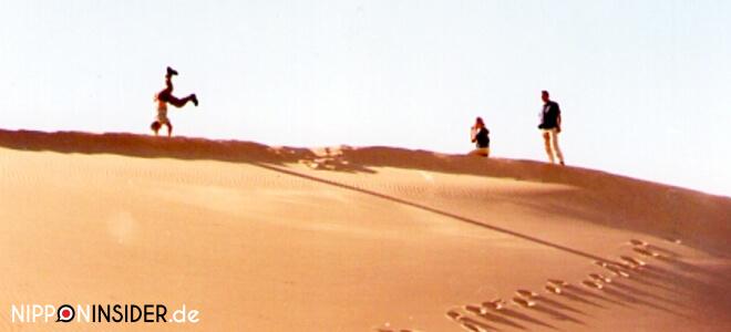 Verrückte Dinge tun auf einer Düne in der Wüste Gobi | Nipponinsider