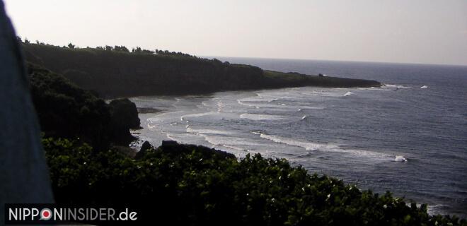Bild von der Küste am südlichen Zipfel von Okinawa Honto, dem Cape Kiyan / Kiyan Misaki | Nipponinsider