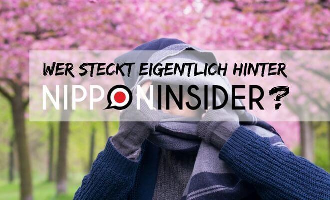Wer steckt eigentlich hinter Nipponinsider? Bild von der Autorin Daniela versteckt in einem Schal bei blühenden Kirschbäumen | Nipponinsider Japanblog