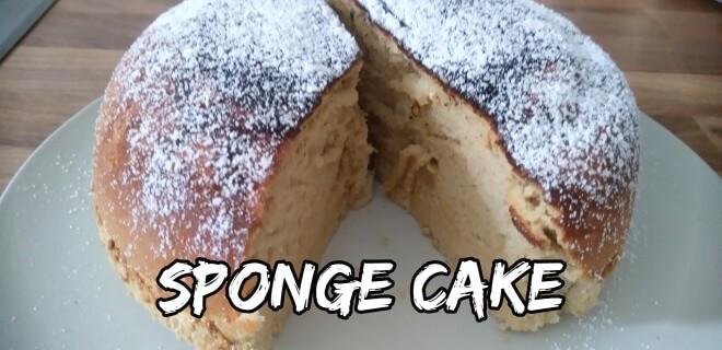 Japanischer Kuchen: Sponge Cake aus dem Reiskocher mit Puderzucker | Nipponinsider