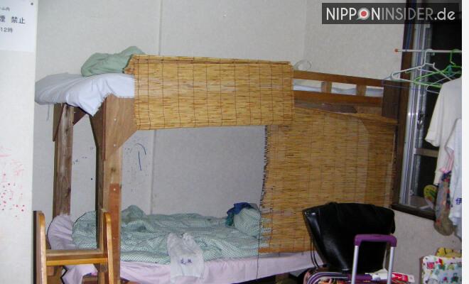 Etagenbett eines Mehrbettzimmers auf Okinawa | Nipponinsider Japanblog