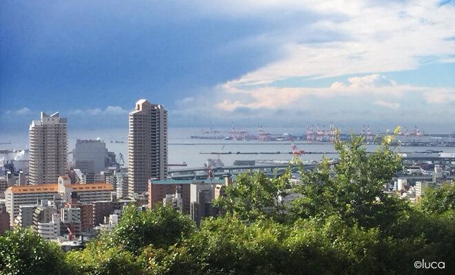 Aussicht auf Kobe