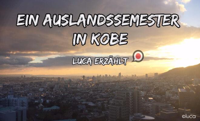 Ein Auslandssemester in Japan Kobe | Bild der Stadt bei Sonnenaufgang | Nipponinsider
