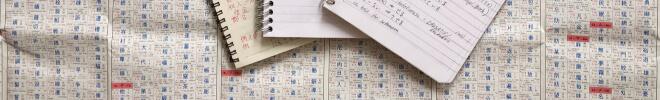 die 7 größten Fehler beim Japanisch lernen- Kanji Tabelle und Schreibhefte