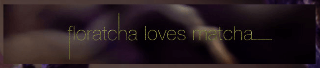 Floratcha loves Matcha Titel | Japanblog Liste auf Nipponinsider