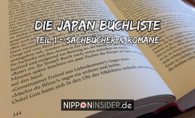 Japan Buchliste Teil 1: Sachbücher und Romane, Bild eines aufgeschlagenen Buches | Nipponinsider