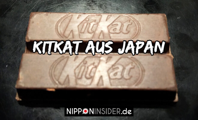 Kitikat aus Japan. Bild der Doppelschokowaffel | Nipponinsider