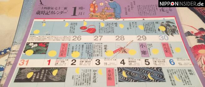 Mondkalender aus Japan | Nipponinsider