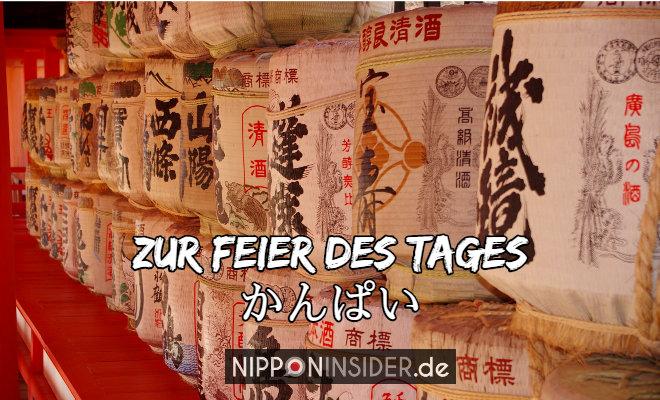 Zur Feier des Tages: Kanpai. Sake-Fässer | Nipponinsider