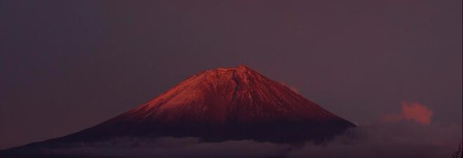 Fuji-san in der Abendsonne