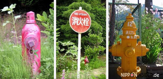 japanische Feuerhydranten
