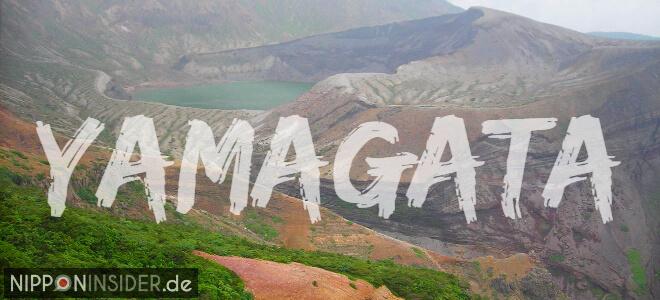 Grenze zwischen Miyagi und Yamagata mit Blick auf den Okama-Kratersee | Nipponinsider Japanblog