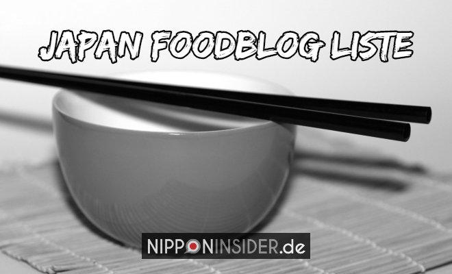 Japan Foodblog Liste deutschsprachig. Bild von Stäbchen auf einer Schüssel | Nipponinsider Japan Blog