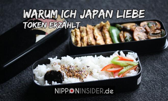 Warum ich Japan liebe - Token von Bento-Lunch-Blog erzählt. Bild von einer zweiteiligen Bento Lunch Box | Nipponinsider Japan Blog