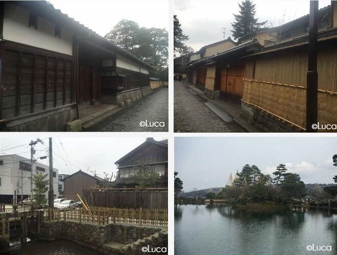 Kanazawa Nagamachi - altes Samurai Dorf mit engen Straßen und alten Häusern
