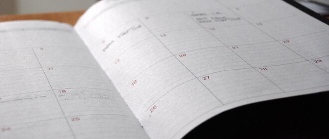 Kalender Planung | Nipponinsider