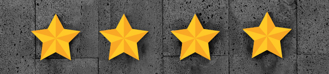 Schwierigkeitsstufe 4. four stars of Four Ranking