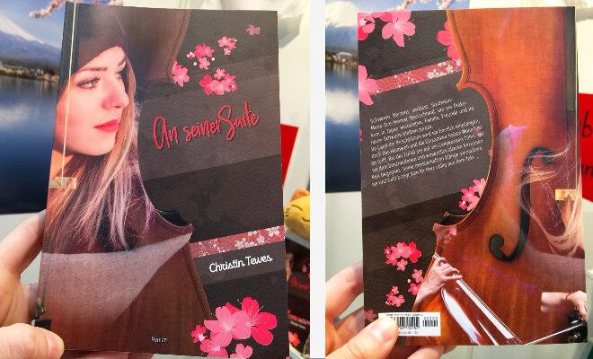 Christin Tewes: An seiner Saite. Buch von vorne und von hinten | Nipponinsider