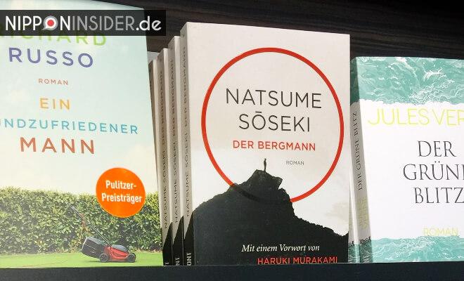 Der Bergmann. Buchtitel im Buchregal. Neuerscheinungen auf der Leipziger Buchmesse 2018 | Nipponinsider