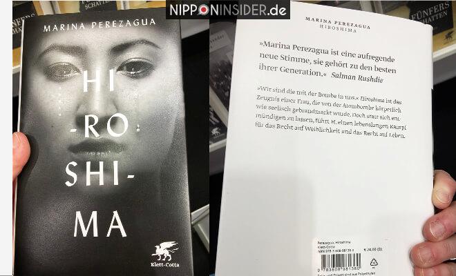 Hiroshima. Buchtitel von vorn und von hinten. Neuerscheinungen auf der Leipziger Buchmesse 2018 | Nipponinsider