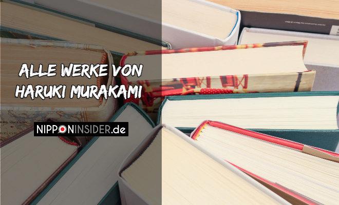 Alle Werke von Haruki Murakami | Foto von Büchern | Nipponinsider