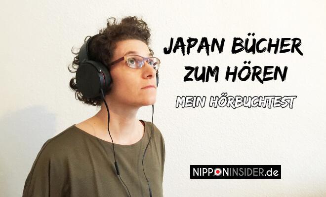 Japan Bücher zum Hören, mein Hörbuchtest. Kopf mit Kopfhörern | Nipponinsider
