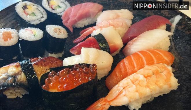 Japanischer Restaurant Guide Berlin: Sushi Menü im Isin | Nipponinsider