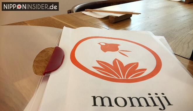 Japanischer Restaurant Guide Berlin: Das Momiji Menü | Nipponinsider