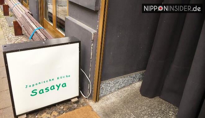Japanischer Restaurant Guide Berlin: Eingang vom Sasaya | Nipponinsider