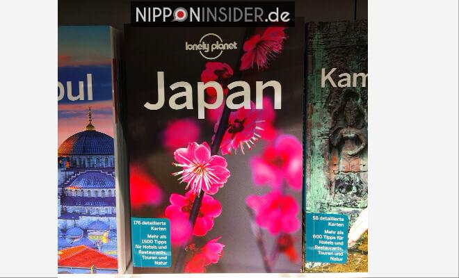 Lonely Planet Japan im Buchregal. Neuerscheinungen auf der Leipziger Buchmesse 2018 | Nipponinsider