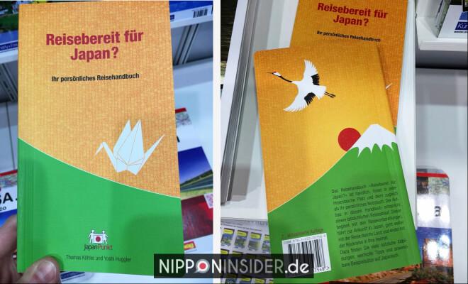 Reisebereit für Japan. Buchtitel Vorder- und Rückseite. Neuerscheinungen auf der Leipziger Buchmesse 2018 | Nipponinsider